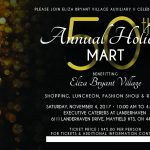 Annual Holiday Mart Card
