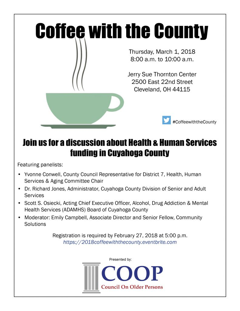 Coffee With County 2018