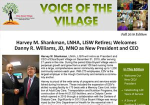 8. Fall 2016 Voice of the Village